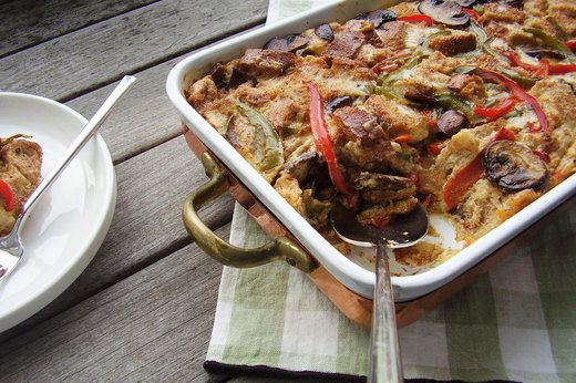 7. Special-Occasion Vegetable Egg Strata