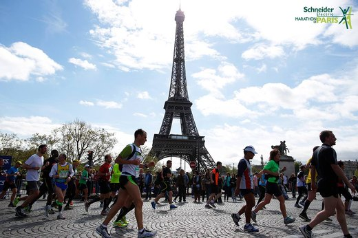 11. Paris Marathon (April)