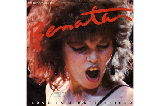 "7. ""Love is a Battlefield"" by Pat Benatar"