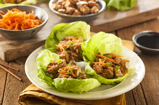 7. Turkey Lettuce Wraps