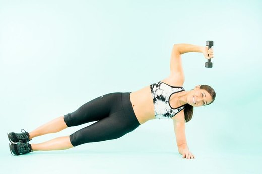 How to Do Side Plank Triceps Extensions