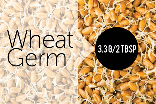 11. Wheat Germ (2 Tbsp): About 3.33g of Protein