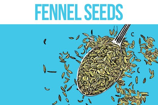 1. Fennel Seeds