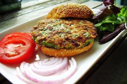 6. Spinach-Stuffed Turkey-Burger Patties