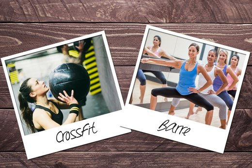 4. CrossFit + Barre
