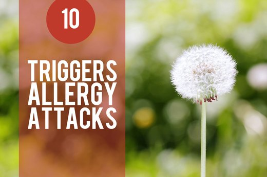 10. Stress Triggers Allergy Attacks