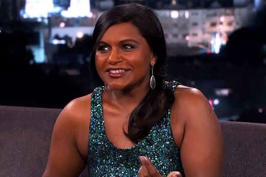 5. Mindy Kaling Receives Backhanded Compliments