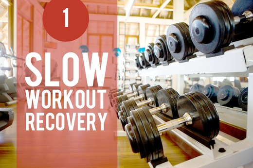 1. Stress Slows Recovery From a Workout