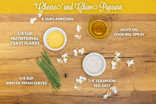 "11. ""Cheese"" and Chive Popcorn"