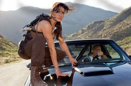"19. Michelle Rodriguez in ""The Fast and the Furious"" Franchise"