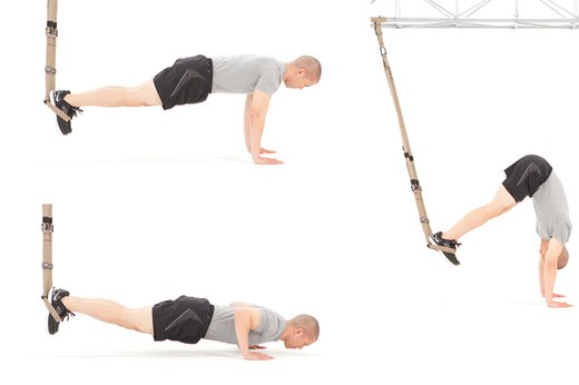 6. Atomic Pike Push-Up