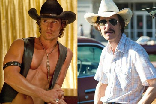 "5. Matthew McConaughey, ""Dallas Buyers Club"""