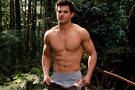 "24. Taylor Lautner in the ""Twilight"" Series"