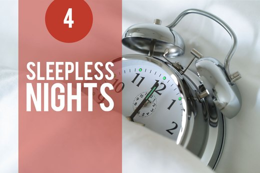 4. Stress Keeps You Up at Night