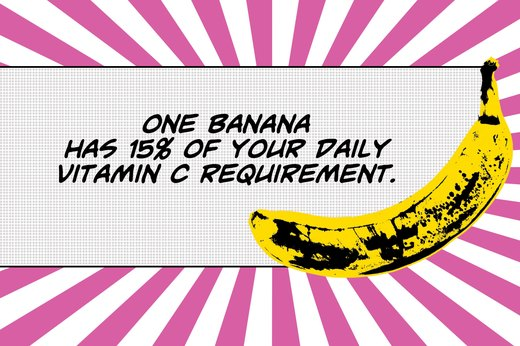 8. Bananas Give You a Boost of Vitamin C