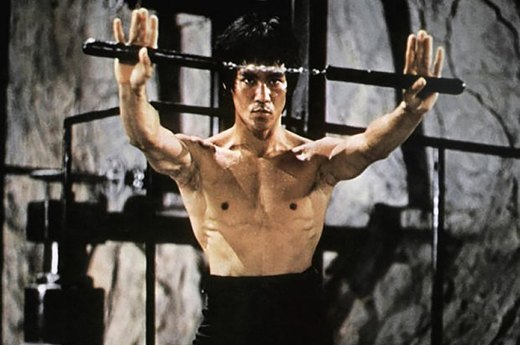 "10. Bruce Lee in ""Enter the Dragon"""