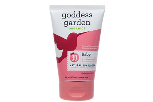 7. BEST BABY SUNSCREEN: Goddess Garden Baby Natural Sunscreen, SPF 30