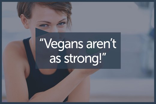 MYTH 9: Vegans Can't Build Strength or Be Athletic