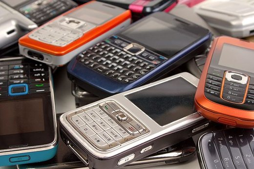 7. Old Phones and Cellphone Accessories
