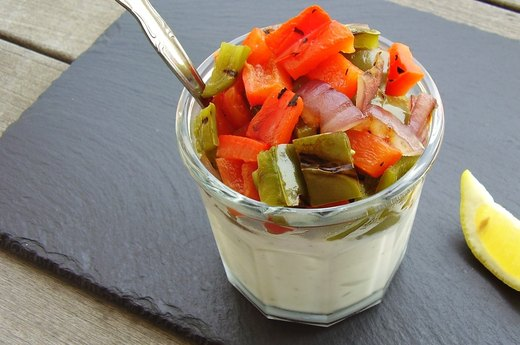 6. Grilled Vegetable Greek Yogurt