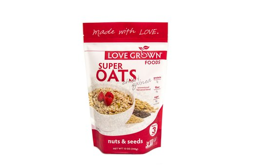 5. Love Grown Foods Super Oats