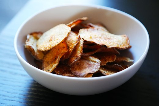 8. Baked Salt-and-Vinegar Chips