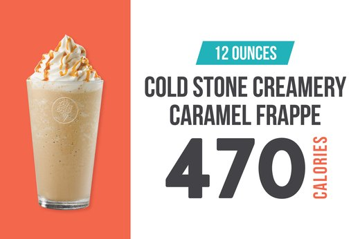 #7: Cold Stone Creamery Caramel Frappe