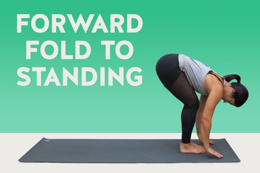 14. Forward Fold to Standing