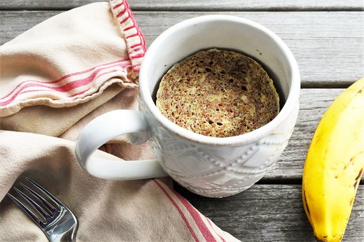 7. 2-Minute Banana-Nut Mug Muffin