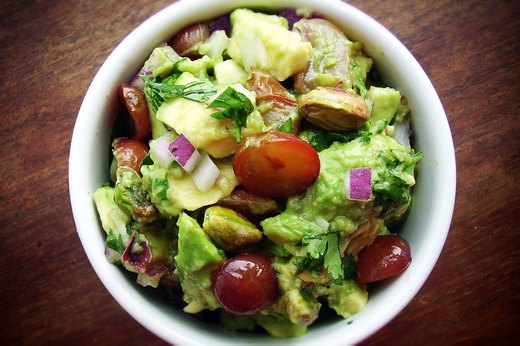 4. Roasted California-Grape Guacamole
