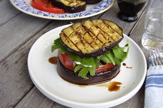 "9. Grilled Vegetable ""Burgers"""