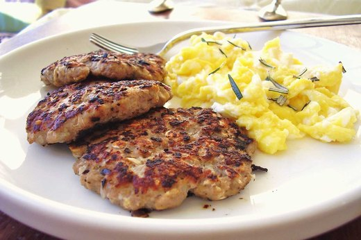 8. Organic Chicken Breakfast Patties