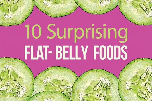 10 Surprising Flat-Belly Foods