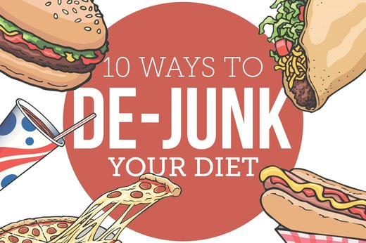 10 Ways to De-Junk Your Diet