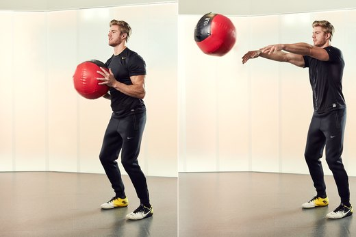 Medicine-Ball Chest Pass