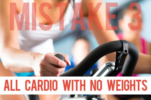 3. You Spend Hours on Cardio and Skip the Weights to Lose Weight