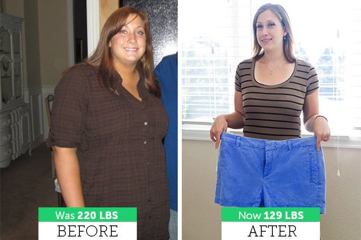Sarah M. Lost 91 Pounds!