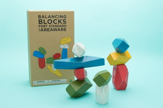 42. Areaware Balancing Blocks Bundle