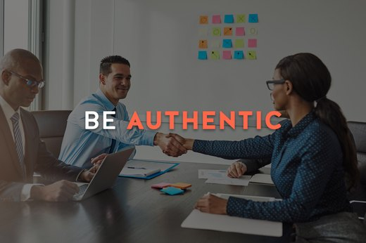 8. Be Authentic