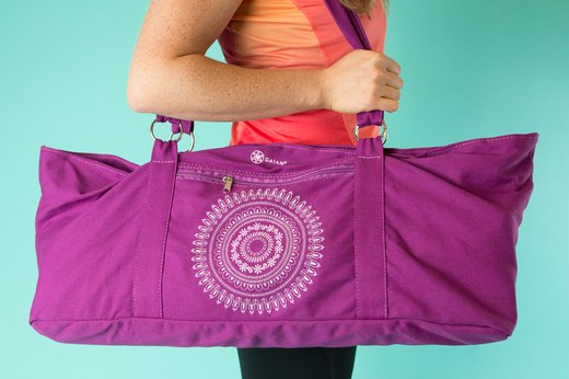 66. Gaiam Marrakesh Yoga Tote