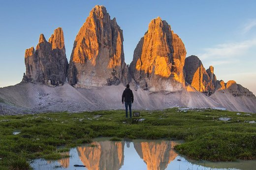 6. The Dolomites in South Tyrol, Italy