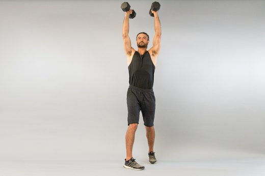 How to Do a Dumbbell Rotational Shoulder Press