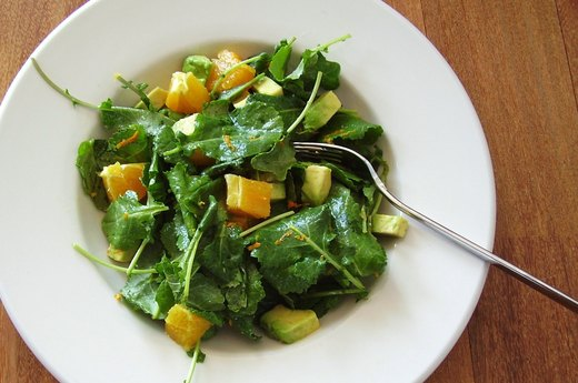 2. Avocado, Kale and Citrus Salad