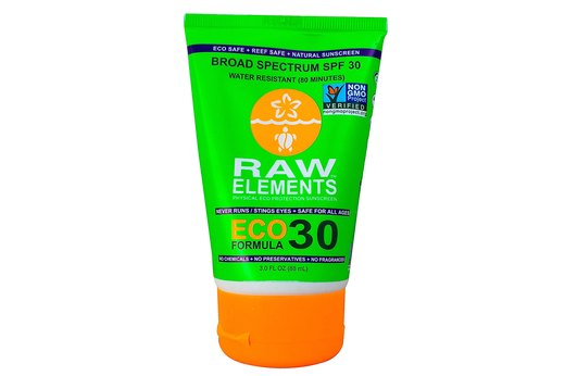 20. BEST ORGANIC SUNSCREEN: Raw Elements USA Eco Formula, SPF 30