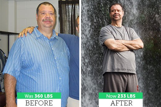 How Michael P. Lost 127 Pounds!