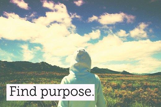 5. Find a Purpose