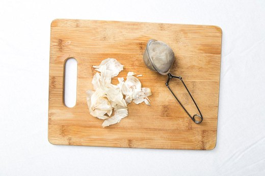 10. Save and Reuse Garlic Skins