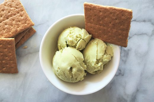 2. Tropical Key Lime Ice Cream