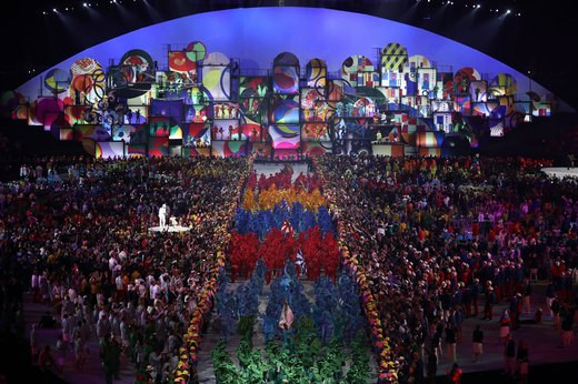 10 Best Moments from the 2016 Rio Olympics Opening Ceremony