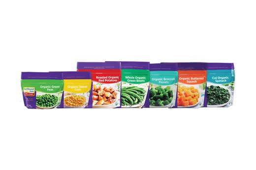 6.  Frozen Vegetables: Earthbound Farm Organic